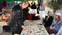 BÜYÜKDERE - Kadınlar El Emeği Göz Nuru Ürünlerle Ekonomilerine Katkı Sağlıyor