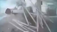 BENZIN - Kamyonet Bomba Gibi Patladı Açıklaması O Anlar Kamerada