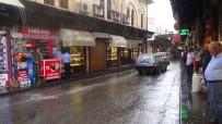 Kilis'te Aniden Bastıran Yağmur Etkili Oldu
