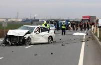 ÖLÜMLÜ - Kırklareli'nde 894 Trafik Kazasında 30 Kişi Hayatını Kaybetti