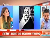 SÖYLEMEZSEM OLMAZ - Nihat Doğan'dan Atatürk'e hakaretten tutuklanan Akar'a sert tepki
