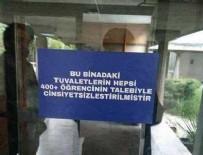 ORTA DOĞU TEKNIK ÜNIVERSITESI - ODTÜ tuvaletlerinde kadın-erkek ayrımı kalktı