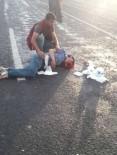 PAŞALı - Oltu'da Trafik Kazası Açıklaması 2 Yaralı