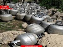 KOMANDO - PKK'ya Ait 25 Ton Malzeme Ele Geçirildi