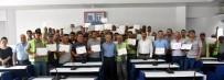SOSYAL GÜVENLIK - Salihli'de Temizlik İşçileri Sertifikalı Oldu