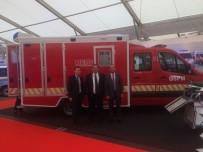 DıŞ TICARET - Türk Yapımı Kurtarma Ambulansı Almanya'da Görücüye Çıkarıldı