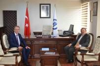 BARTIN ÜNİVERSİTESİ - Zonguldak Valisi Kaban, Rektör Uzun'u Ziyaret Etti