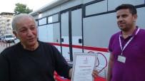 GÜMÜŞ MADALYA - 25 Ünite Kan Veren Vatandaş Madalya İle Ödüllendirildi