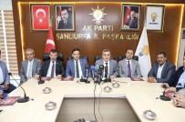 BASIN TOPLANTISI - AK Parti Şanlıurfa Milletvekili Kemalettin Yılmaztekin Açıklaması
