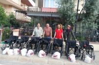 TEKERLEKLİ SANDALYE - Aydın'da 11 Engelli Sevndrildi