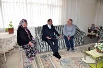 KOAH - Başkan Akgül'den Hasta Vatandaşa Moral Ziyareti