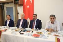 BASıN İLAN KURUMU - Belediye Başkanı Gürkan Medya Temsilcileri İle İftarda Bir Araya Geldi