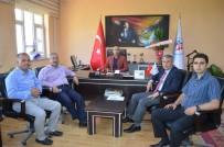BİTLİS - Belediye Başkanlarından Elkatmış'a Ziyaret