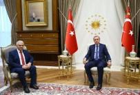 CUMHURBAŞKANı - Cumhurbaşkanı Erdoğan Başbakan Yıldırım'ı Kabul Etti