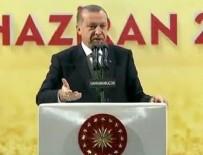 FETÖ TERÖR ÖRGÜTÜ - Cumhurbaşkanı Erdoğan: İspatlayamazsanız alçaksınız