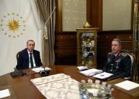 HULUSİ AKAR - Cumhurbaşkanı Erdoğan, Org. Akar'ı kabul etti