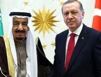 Cumhurbaşkanı Erdoğan, Suud Kralıyla Görüştü