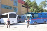 MAHKEME HEYETİ - Denizli'de FETÖ'nün Eğitim Davasında 8 Tahliye, 3 Tutuklama