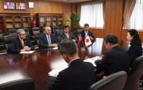 JAPONYA BAŞBAKANI - Dışişleri Bakanı Çavuşoğlu, Japonya Başbakanı Abe İle Görüştü