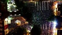 EYÜP SULTAN - Eyüp Sultan'daki Kadir Gecesi Coşkusu Havadan Görüntülendi