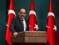 MÜZAKERE - Cumhurbaşkanlığı Sözcüsü İbrahim Kalın: İdlib'de Türkiye ve Ruslar yer alacak