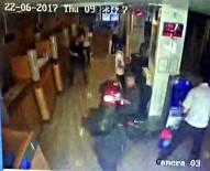 GÜVENLİK GÖREVLİSİ - İstanbul'da Silahlı Banka Soygunu Kamerada