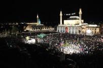 FİKRİ IŞIK - Kadir Gecesi'nde Onbinler Mevlana Meydanı'nda Bir Araya Geldi