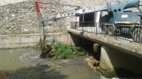 VEZIRHAN - Karasu'da Temizleme Çalışması Yapılıyor
