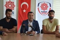 BASIN TOPLANTISI - Karesispor'da İmzalar Atıldı