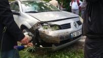 Kastamonu'da Tır İle Otomobil Çarpıştı