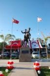 KEMER BELEDİYESİ - KKTC Lapta'ya Atatürk Heykeli
