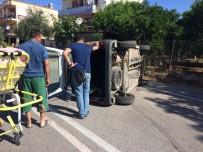 ŞELALE - Manavgat'ta Trafik Kazası Açıklaması 1 Yaralı