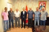 TÜRKIYE GAZETECILER FEDERASYONU - MGC Milas Temsilcilerinden Kaymakam Arslan'a Ziyaret