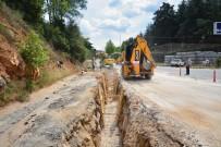 ŞEBEKE HATTI - Modern Kanalizasyon Hattının 3 Kilometresi Tamamlandı