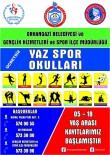 MASA TENİSİ - Orhangazi'de Yaz Spor Okulları Başlıyor