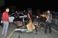 BİTLİS - Otomobil Parçalara Ayrıldı Açıklaması 3 Ölü, 8 Yaralı