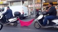 ÇOCUK AYAKKABISI - İstanbul'da Tehlikeli Ve İlginç Yolculuklar Kamerada