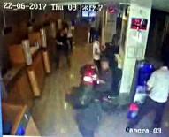 GÜVENLİK GÖREVLİSİ - (Özel) Kartal'da Yaşanan Silahlı Banka Soygunu Kamerada