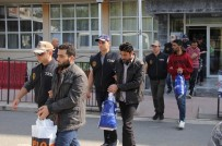 Samsun'da 11 DEAŞ'lı Adliyeye Sevk Edildi