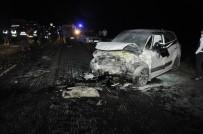 BİTLİS - Tatvan'da Trafik Kazası Açıklaması 3 Ölü 8 Yaralı