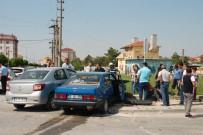 Tekirdağ'da Trafik Kazası Açıklaması 1 Yaralı