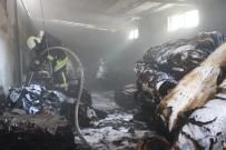 EURO - Tekstil Deposunda Yangın