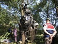TEM OTOYOLU - TEM Otoyolu'nda feci kaza: 3 ölü, 1 yaralı