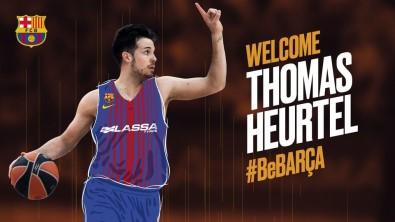 Thomas Heurtel Barcelona'da