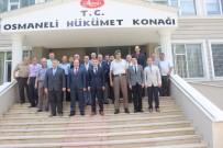 EDIP ÇAKıCı - Vali Elban'dan Osmaneli'ne Veda Ziyareti