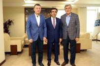 İBRAHIM KARAOSMANOĞLU - Vali Güzeloğlu'ndan Başkan Karaosmanoğlu'na Veda Ziyareti
