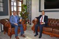 FEYAT ASYA - Vali Yavuz'dan Başkan Asya'ya Veda Ziyareti