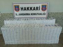 TAHKİKAT - Yüksekova'da 8 Bin Paket Sigara Ele Geçirildi