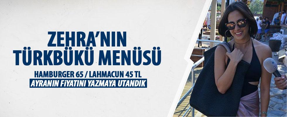 Zehra Çilingiroğlu'nun maliyetli tatili