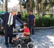 BEDENSEL ENGELLİ - 11 Yaşındaki Mehmet'in İsteği Haliliye Belediyesi İle Gerçekleşti